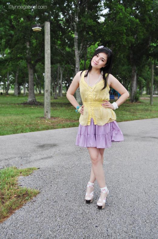 Yellow + Lilac Eye Candy