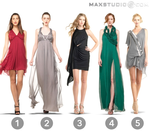 My Designer Dress Wish List from Max Studio