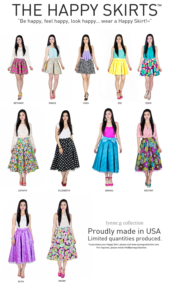Hey All! Meet The Happy Skirts™