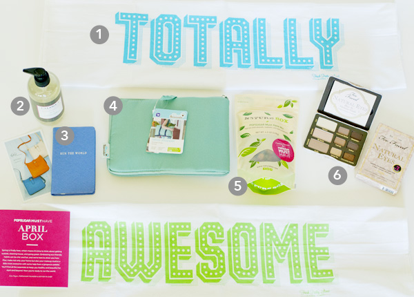 What's In My POP Sugar Must Have April Box?