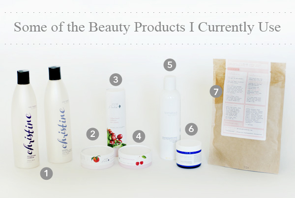 Some of The Beauty Products I'm Using