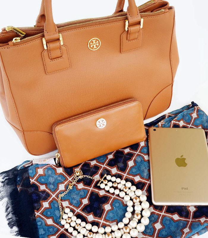 Gold iPad Mini + Tory Burch Package Giveaway