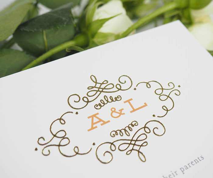 Our Wedding Invitation Suite from Minted