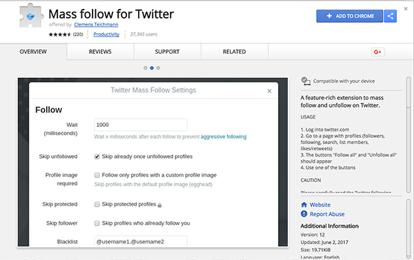 5 Free Google Chrome Extensions to Massively Increase Your Twitter Followers and Automate Your Account + Some Important Tips