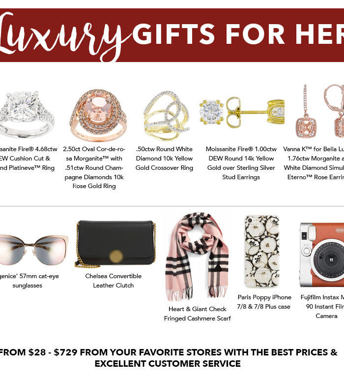 Luxury Holiday Gift Guide For Her
