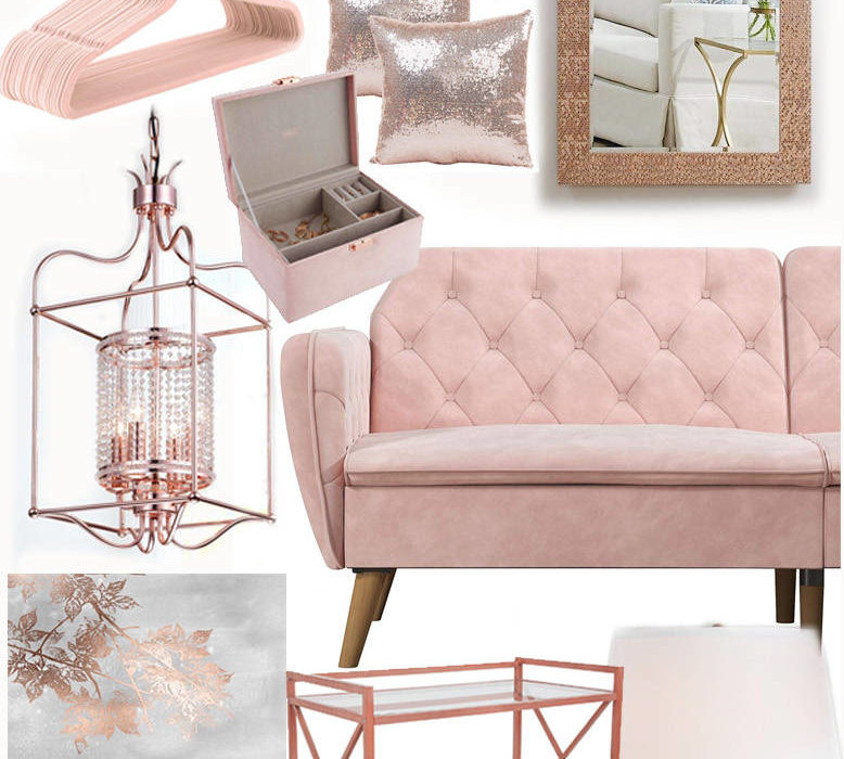21 Swoon Worthy Blush and Rose Gold Furniture and Home Decor You Will Ever Find